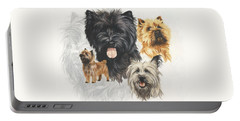 Cairn Terrier Revamp Portable Battery Charger