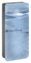 Cairngorms From Glenshee Ski Area Portable Battery Charger