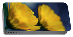 Portable Battery Charger featuring the photograph Calendula Flowers by Sharon Mau