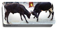 Calf Fighting Portable Battery Charger