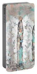 Calico Angel Trio Portable Battery Charger by Kirsten Reed