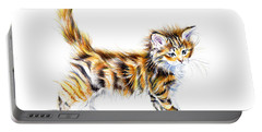 Calico Kitten Portable Battery Charger