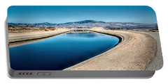 California Aqueduct At Fairmont Portable Battery Charger
