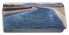California Aqueduct S Curves Portable Battery Charger