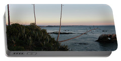 California At Twilight Portable Battery Charger