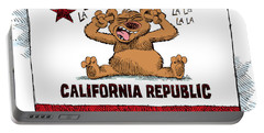 California Budget La La La Portable Battery Charger