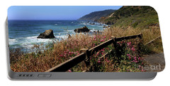 California Coast Portable Battery Charger by Joseph G Holland