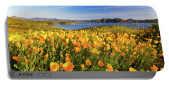 California Dreamin Portable Battery Charger by Tassanee Angiolillo