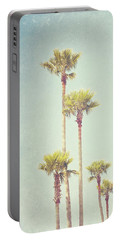 California Dreaming - Palm Tree Print Portable Battery Charger