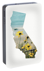 Portable Battery Charger featuring the mixed media California Dreams Art By Linda Woods by Linda Woods
