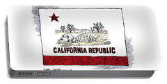 California Drought Portable Battery Charger