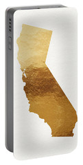 California Gold- Art By Linda Woods Portable Battery Charger