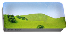 Portable Battery Charger featuring the photograph California Hillside by Melanie Alexandra Price
