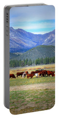 Portable Battery Charger featuring the photograph California Pastures by Glenn McCarthy Art and Photography