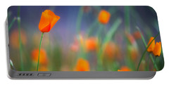 California Poppies 2 Portable Battery Charger