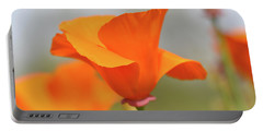 California State Poppy Macro Portable Battery Charger