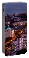 California Street At Ventura California Portable Battery Charger