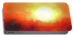 California Sunset Portable Battery Charger by Scott Cameron
