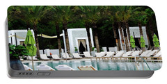 Caliza Pool In Alys Beach Portable Battery Charger