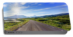 Portable Battery Charger featuring the photograph Call Of The Road by Dmytro Korol