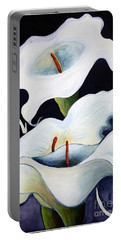 Calla Lilies.. Portable Battery Charger