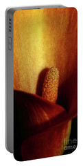 Calla Lily Portable Battery Charger
