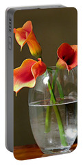 Calla Lily Stems Portable Battery Charger