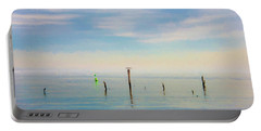 Portable Battery Charger featuring the photograph Calm Bayshore Morning N0 2 by Gary Slawsky