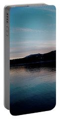 Calm Blue Lake Portable Battery Charger
