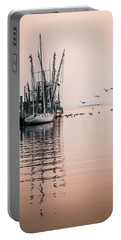 Calm Evening On Shem Creek Portable Battery Charger