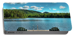 Calm In The Adirondacks Portable Battery Charger