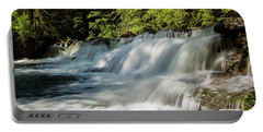 Portable Battery Charger featuring the photograph Calm In Your Heart - Waterfall Art by Jordan Blackstone