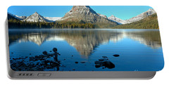Portable Battery Charger featuring the photograph Calm Morning At 2 Medicine by Adam Jewell
