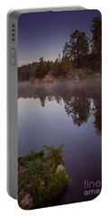 Portable Battery Charger featuring the photograph Calm Morning by Steven Reed