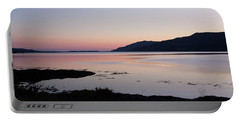 Calm Sunset Loch Scridain Portable Battery Charger