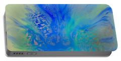 Calm Waters Abstract Portable Battery Charger