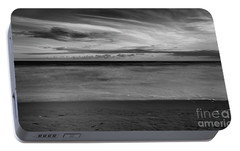 Portable Battery Charger featuring the photograph Calming Seas by Linda Lees