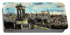 Calton Hill Edinburgh Portable Battery Charger
