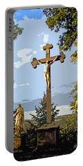 Portable Battery Charger featuring the photograph Calvary Group - Parkstein by Juergen Weiss