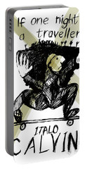 Calvino Traveller Poster  Portable Battery Charger