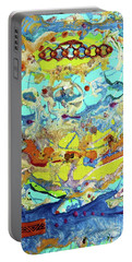 Portable Battery Charger featuring the painting Calypso by Desiree Paquette
