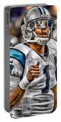 Cam Newton Art 2 Portable Battery Charger