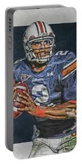 Cam Newton Auburn Tigers Art Portable Battery Charger