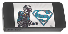 Cam Newton Superman Edition Portable Battery Charger