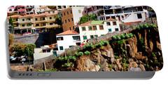 Camara De Lobos On The Island Of Madeira Portable Battery Charger