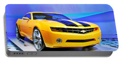 Camaro Bumble Bee 0993 Portable Battery Charger