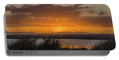 Portable Battery Charger featuring the photograph Camas National Wildlife Refuge by Yeates Photography