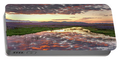 Portable Battery Charger featuring the photograph Camas Spring Sunrise by Leland D Howard