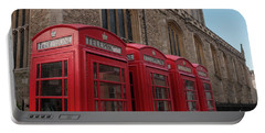 Cambridge Phone Boxes Portable Battery Charger by David Warrington