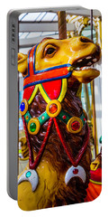 Camel Carrousel Ride Portable Battery Charger